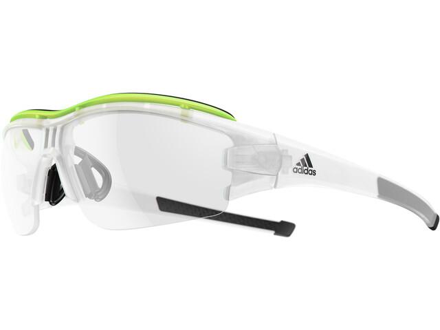 dc115fe42df adidas Evil Eye Halfrim Pro - Lunettes cyclisme - jaune transparent ...